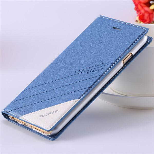 Flip Leather Case With Wallet Card Slots - Elegant Case