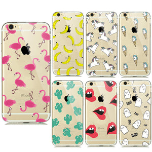 Transparent Silicone Soft TPU Cases for iPhone - Best iPhone Cases