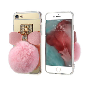 Fur Ball Phone Case For iPhone - Elegant Case