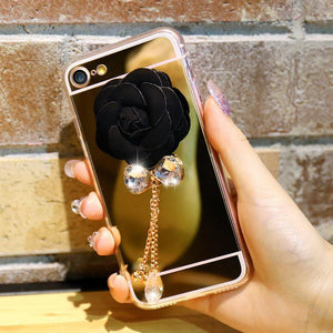 Handmade 3D Mirror Cover Case For iPhone - Elegant Case