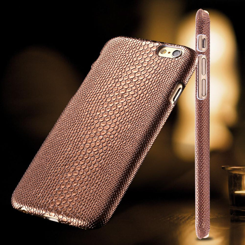 Gold Luxury Hard Plastic Case for iPhone - Best iPhone Cases