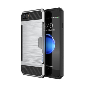 Hard PC Case With Card Slot - Best iPhone Cases