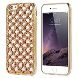 Diamond Back Cover Case For Apple iPhone - Elegant Case