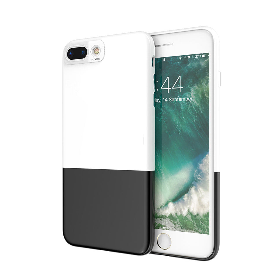 Ultra Thin 2 in 1 Shockproof Hybrid iPhone Case Cover - Elegant Case