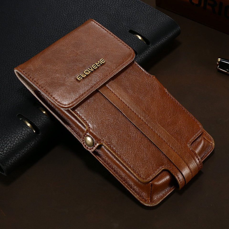Universal PU Leather Pouch Wallet Phone Bag For iPhone - Best iPhone Cases
