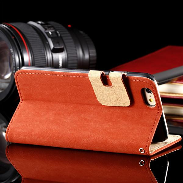 Custom Leather Flip Case for iPhone - Best iPhone Cases