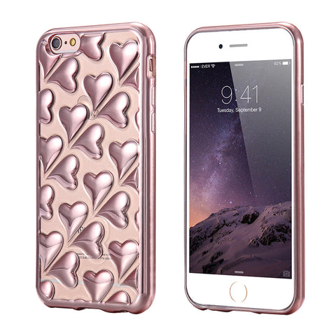 3D Cute Silicone Case Back Cover For iPhone - Elegant Case