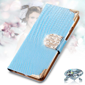 Deluxe Shinning Diamond Wallet Leather For iPhone - Best iPhone Cases