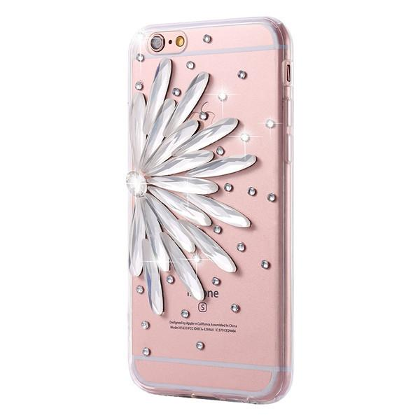 Diamond Flower Rhinestone Case For iPhone - Best iPhone Cases