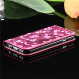 Ultra Slim PU Leather Flip Case for Her - Elegant Case