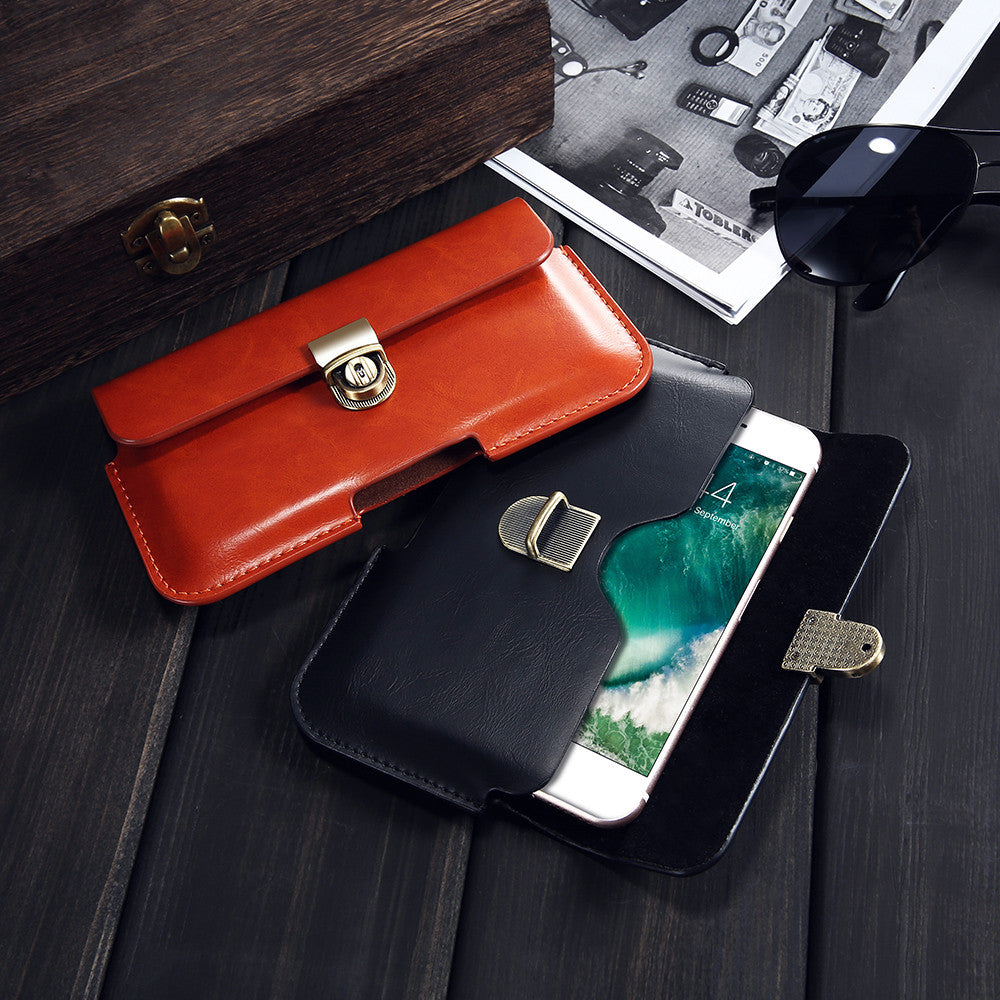 Universal Buckle Waist Bag Pouch Purse For iPhone Cases - Elegant Case
