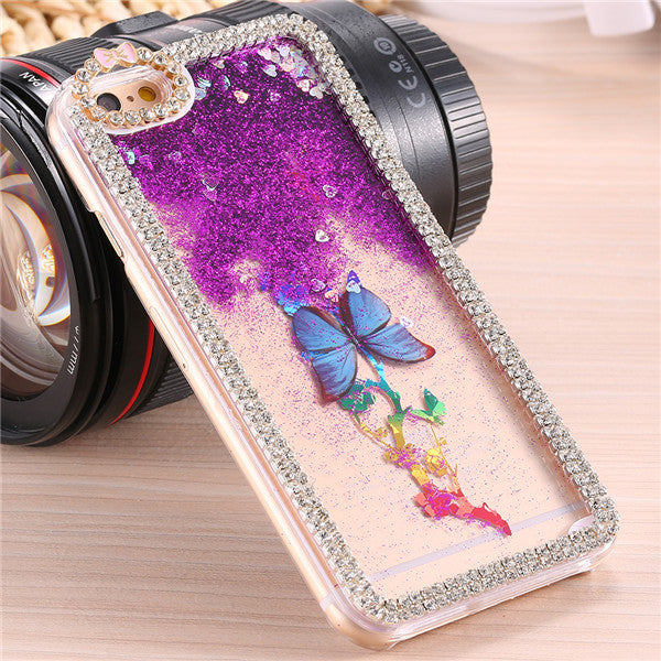Butterfly Diamond Ultrathin Protective Case For Apple iPhone - Best iPhone Cases