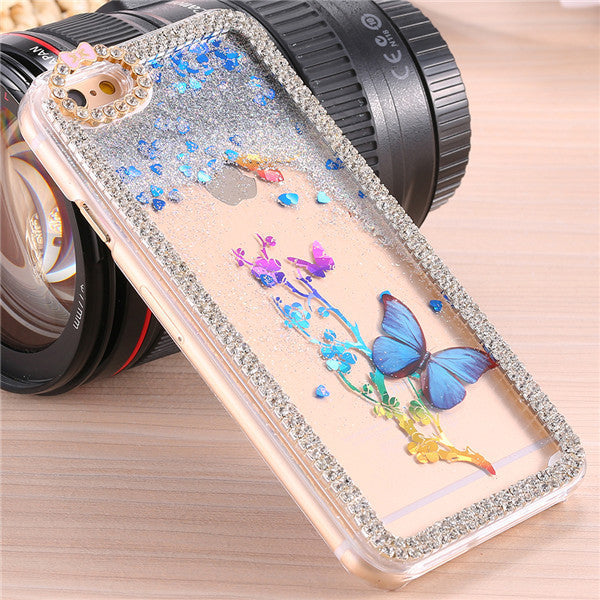 Butterfly Diamond Ultrathin Protective Case For Apple iPhone - Elegant Case