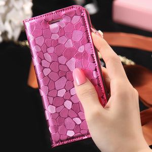 Leather Case For iPhone + Card Slots - Elegant Case
