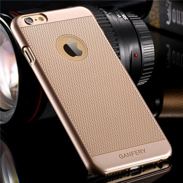 Gold Hard Cover For iPhone Ultra Slim - Elegant Case