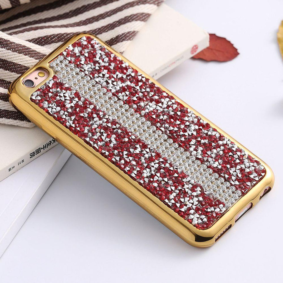 Glitter Rhinestone Case For Apple iPhone - Best iPhone Cases