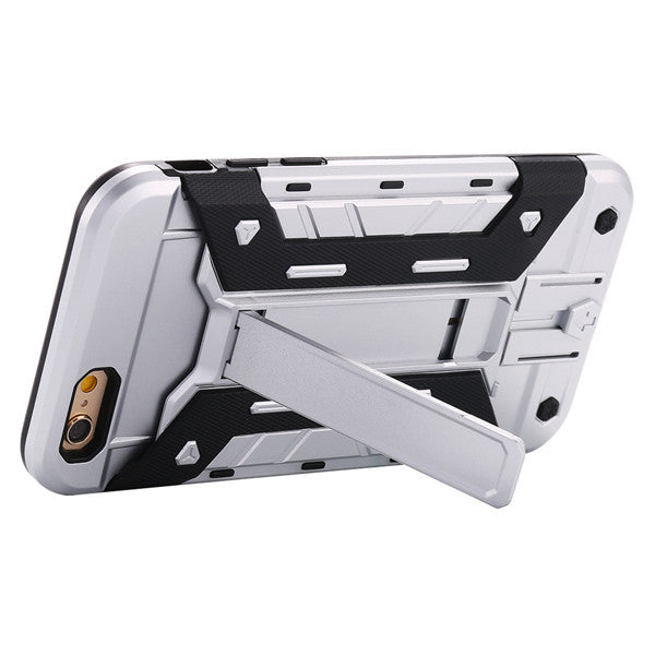 Newest Kickstand Armor Hard Back Cover For Apple iPhone - Elegant Case