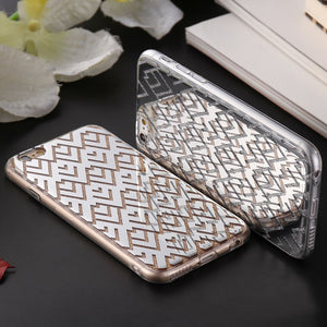 Plating Back Cover For iPhone Glitter Powder Cellphone Case - Best iPhone Cases