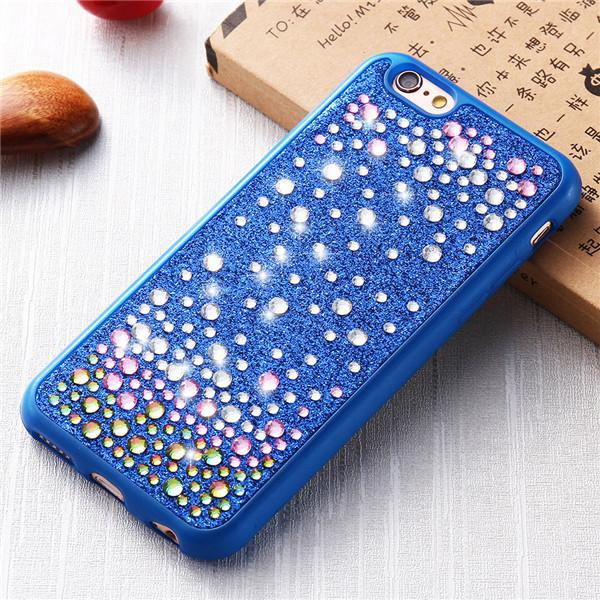 Diamond Back Cover For iPhone Ultra Thin Soft Silicone Case - Elegant Case