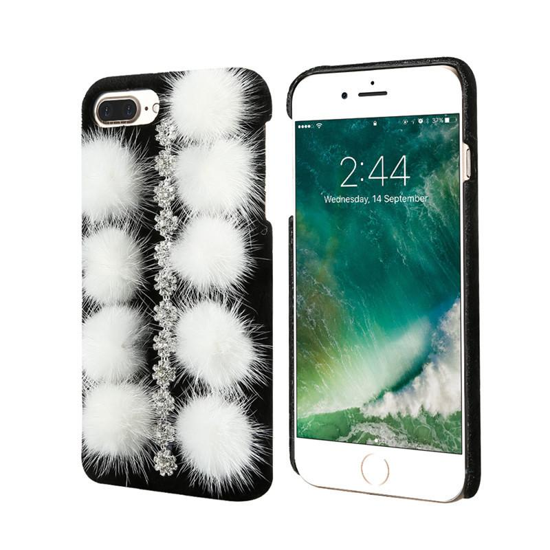 Luxury Plush Hard Case Cover For iPhone - Best iPhone Cases