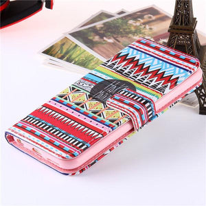 Lovely Wallet Stand Flip Leather Case for iPhone - Best iPhone Cases