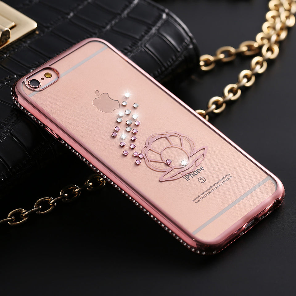 Transparent Soft TPU Plating Case For Apple iPhone - Best iPhone Cases