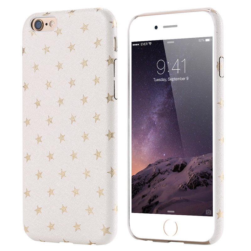 Star Soft PU Leather Case For iPhone - Best iPhone Cases