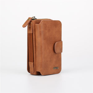 Multifunctional Wallet Leather Case For iPhone - Elegant Case