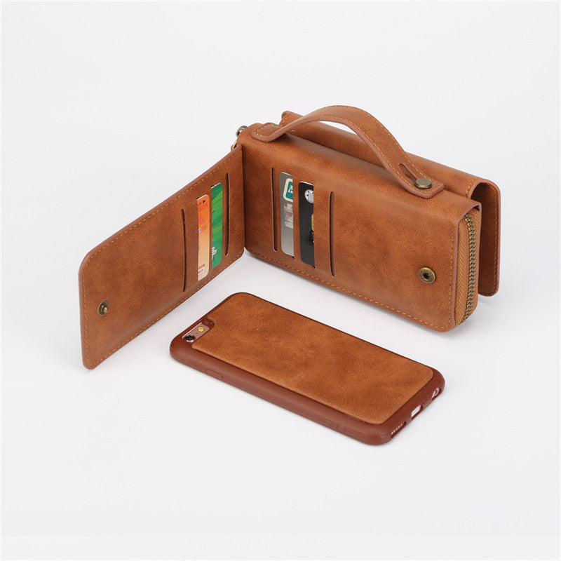 Multifunctional Wallet Leather Case For iPhone - Best iPhone Cases