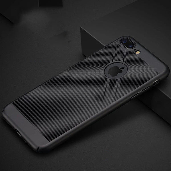 Ultra Thin Honeycomb Advanced Cooling Back Case For iPhone - Elegant Case
