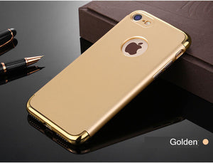 Shockproof Case for iPhone Reinforced With Metal Armor Frame - Best iPhone Cases