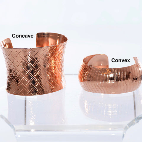 Cuff - Concave (Copper)