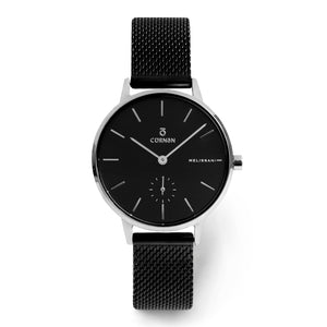 Đồng Hồ Thời Trang Melissani Black Silver - Space - Curnon Watch