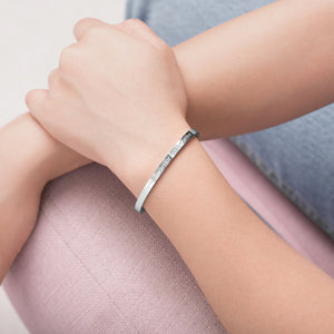 JACKIE CUFF LIMITED EDITION - SILVER