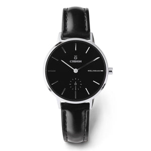 Đồng hồ thời trang Melissani Black Silver - Abyss - Curnon Watch