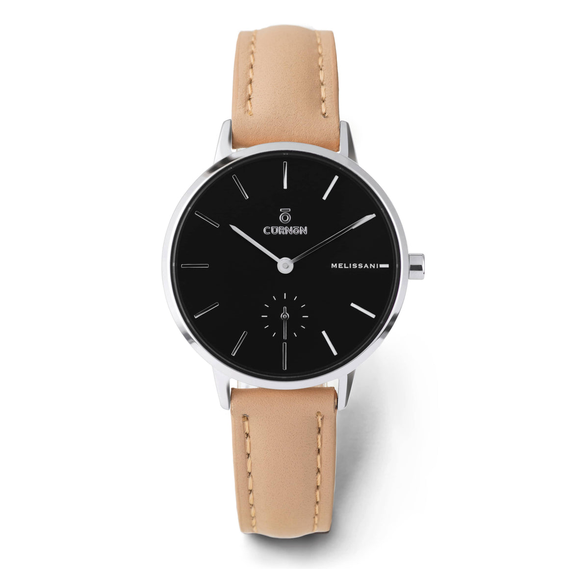 Đồng hồ thời trang Melissani Black Silver - Bliss - Curnon Watch