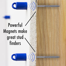 Load image into Gallery viewer, MagnetPal - Strongest Magnetic Wall Stud Finder, Best Magnet Stud Finder, Wood Finder, Small Easy Behind Wall Stud Finder, Tool for Finding Studs, Drywall Screw & Nail Locator, Wall Scanner