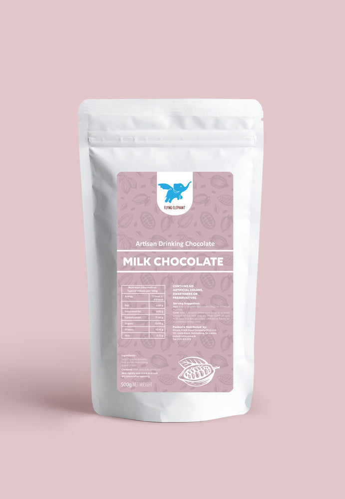 Load image into Gallery viewer, Milk Chocolate by Flying Elephant 500g