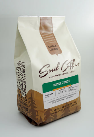 Indulgence Dark Roast - Whole Bean Coffee 500g