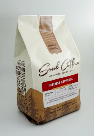Intense Espresso Blend - Whole Bean Coffee 500g