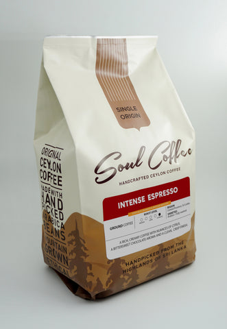 Intense Espresso Blend - Ground Coffee 500g
