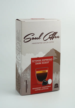 Intense Espresso - Coffee Capsules (10 per Pack) 60g
