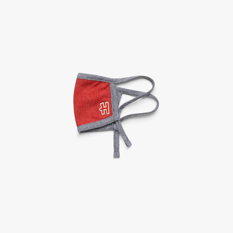 HOMAGE YOUTH Adjustable Cloth Mask (Red/Grey)