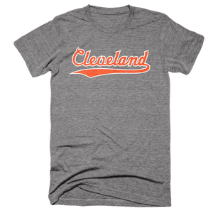Cleveland Script Football T-Shirt