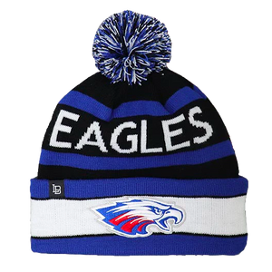 Flag City Liberty-Benton Eagles Custom Knit Winter Hat