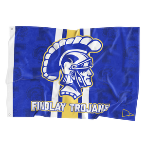 Findlay Trojans 3x5 Flag