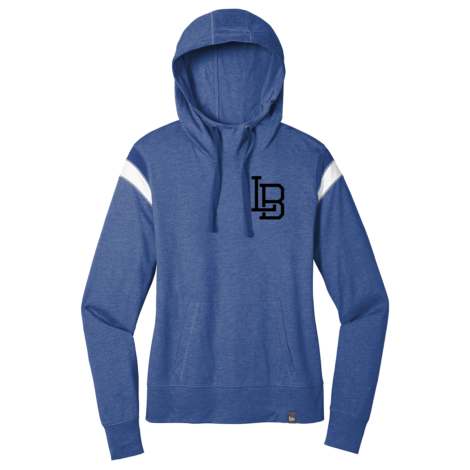 LB Icon New Era ® Ladies Heritage Blend Varsity Hoodie