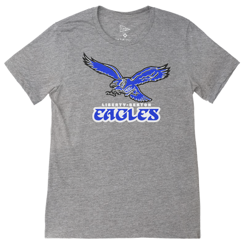 Retro Liberty-Benton Eagles Logo T-Shirt