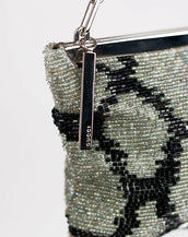 VINTAGE TOM FORD for GUCCI BEADED EVENING CLUTCH BAG