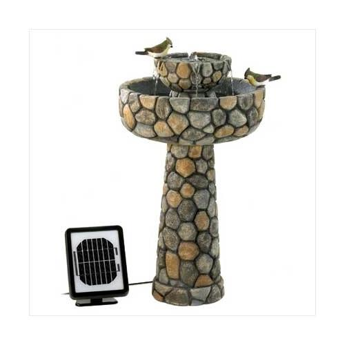 Wishing Well Solar Water Fountain (pack of 1 EA)